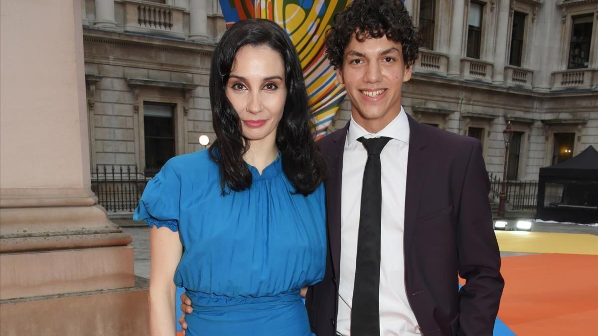 Tamara Rojo y su pareja, Isaac Hernández, en un acto en junio pasado.