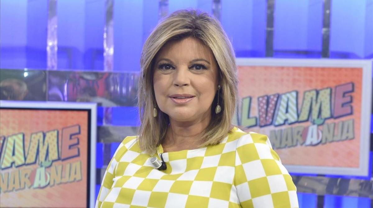 Terelu Campos, presentadora de '¡Qué tiempo tan feliz!' y de 'Sálvame', ambos de Tele 5..