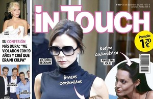 Portada de la revista 'In Touch'.