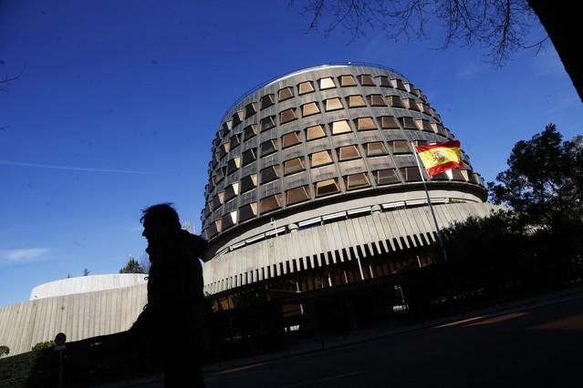 El Tribunal Constitucional, en una foto darxiu.