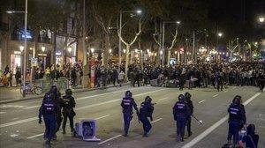 El Govern no aconsegueix pactar una reacció als disturbis