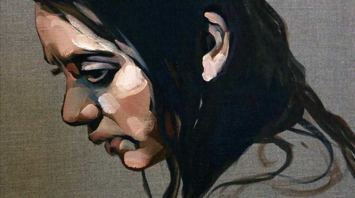 Uno de los óleos de Paula Bonet que se exhiben en la muestra Ilustr@.