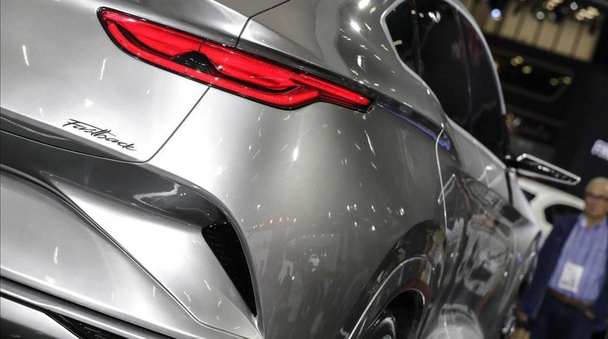 Un vehículo presentado este año en el Salón del Automóvil de Sao Paulo.
