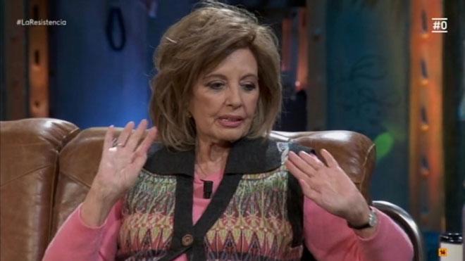 María Teresa Campos en 'La resistencia'.