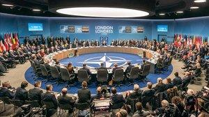 Vista panorámica de la cumbre de la OTAN.