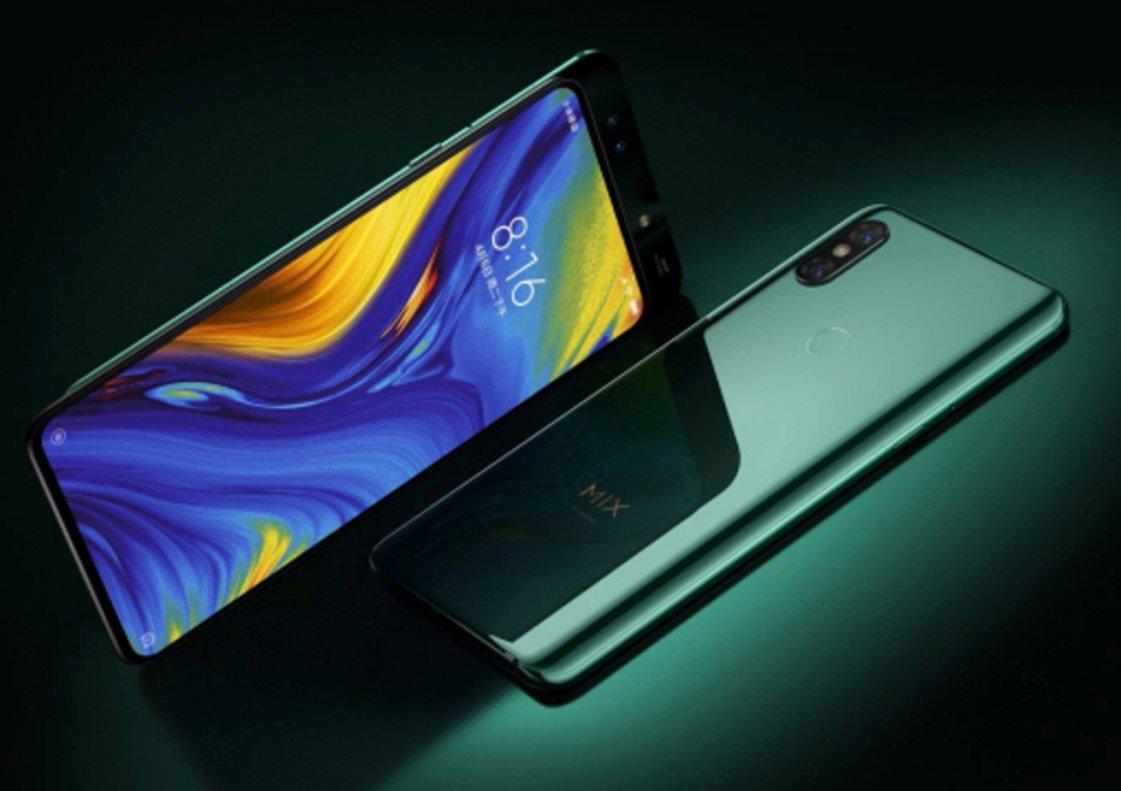 Xiaomi Mi Mix 3 con pantalla deslizable.