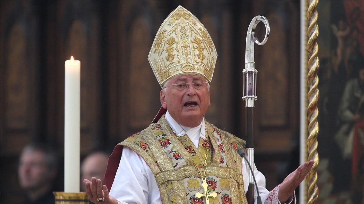 El obispo Walter Mixa, que dimitió tras trascender las denuncias de abusos sexuales.