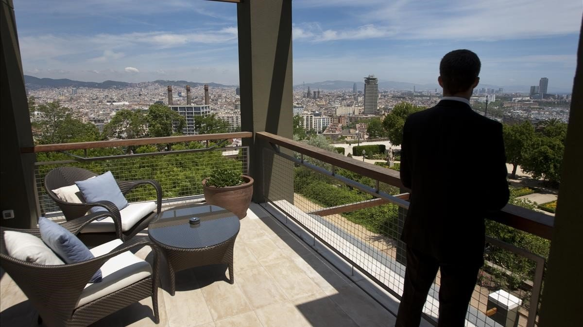 Hotel Miramar de Barcelona.