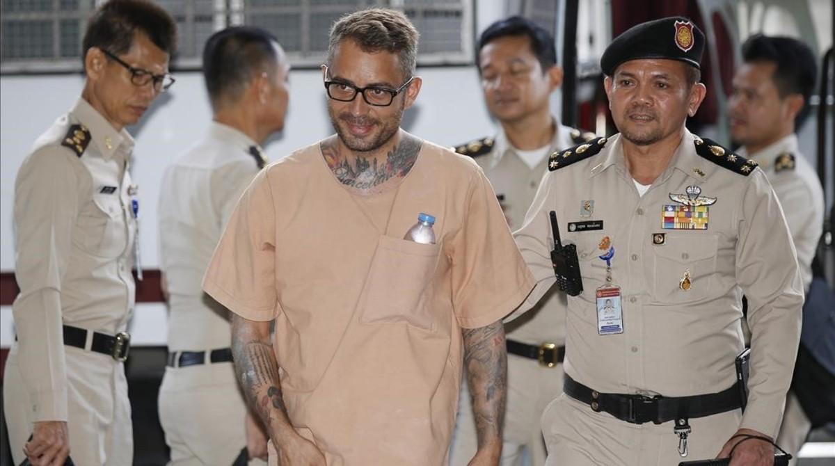 El acusado, Artur Segarra, el pasado 4 de mayo.