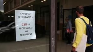 La universitat catalana llangueix