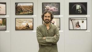 """David del Campo: """"No busco imatges dures, sinó reflectir la vida quotidiana"""""""