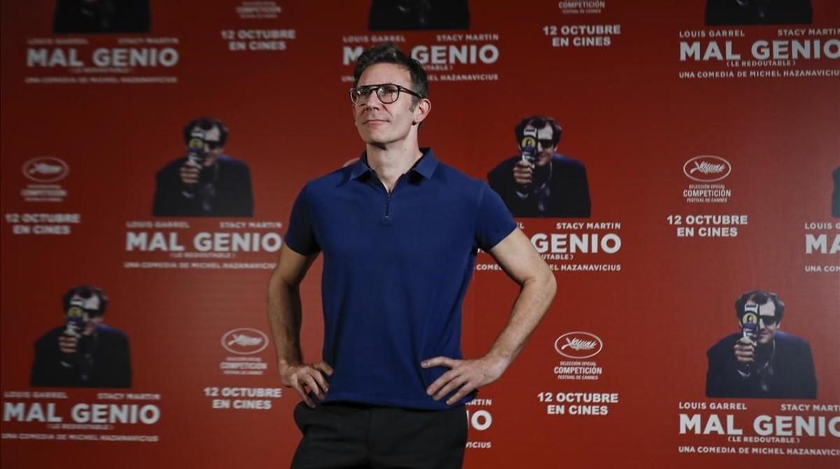 Michel Hazanavicius, en la presentación de Mal genio en Madrid.