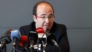 Iceta demanarà l'indult per als líders sobiranistes que siguin condemnats