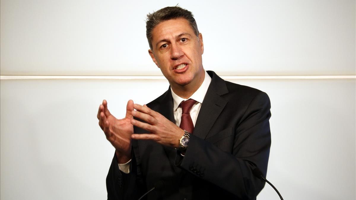 El presidentdel grupparlamentaridel PPC,Xavier García Albiol