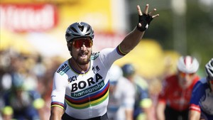 Sagan, la festa, Luis León Sánchez, la desgràcia en el Tour de França