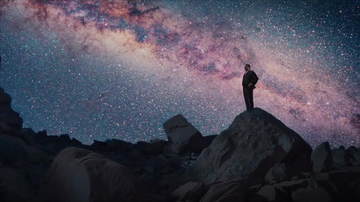 Fotograma de la serie Cosmos: a spacetime odyssey