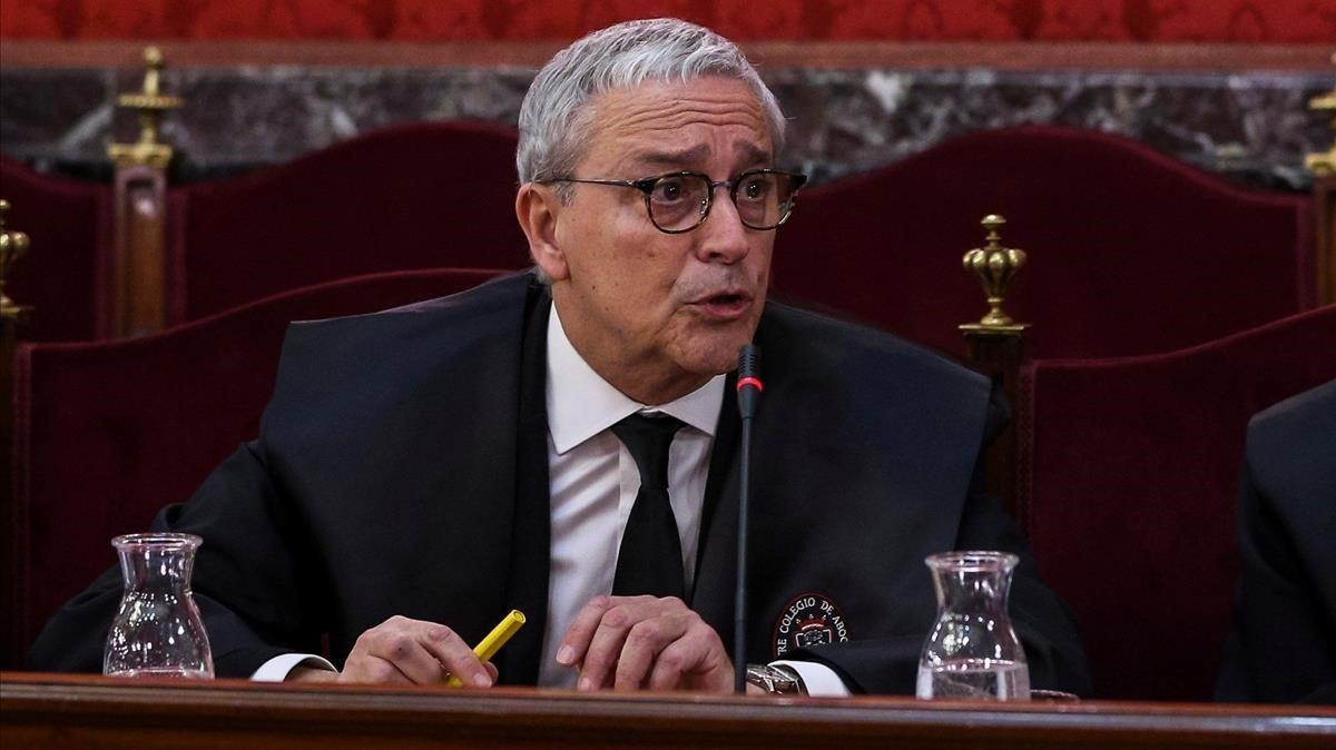 Javier Melero, advocat de Joaquim Forn, un altre dels signants del manifest en defensa d'Arcadi Espada