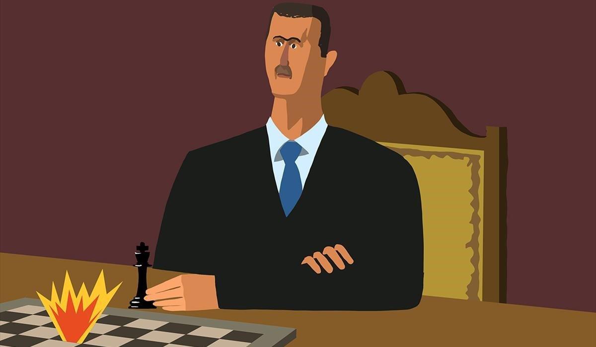 Al Asad ya mira por encima del hombro