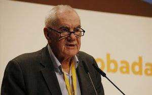 Ernest Maragall, alcaldable de ERC en Barcelona.