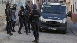 Fuga de policies al Camp de Gibraltar