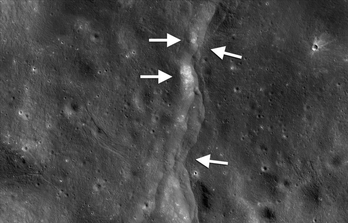 En la Luna tiembla hasta 5 grados Richter, dice la NASA