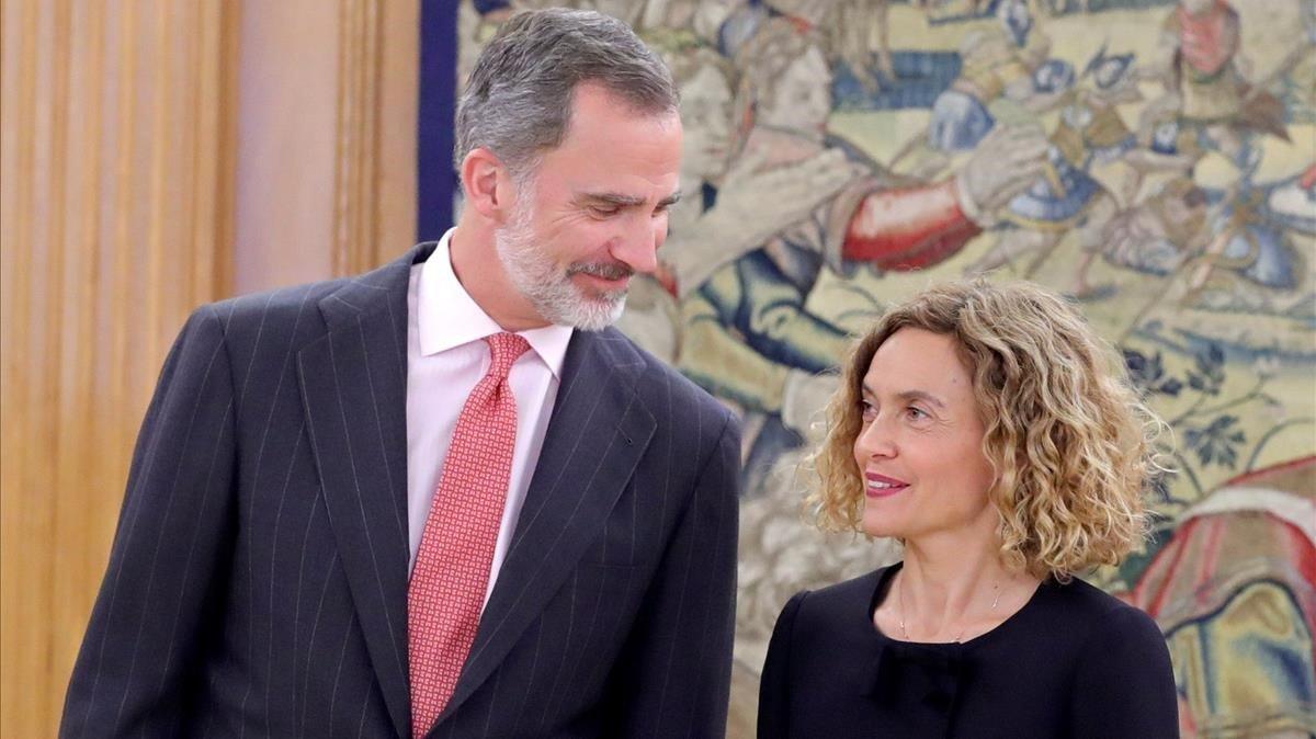 Borràs substituirà Jordi Sánchez en la ronda amb el Rei