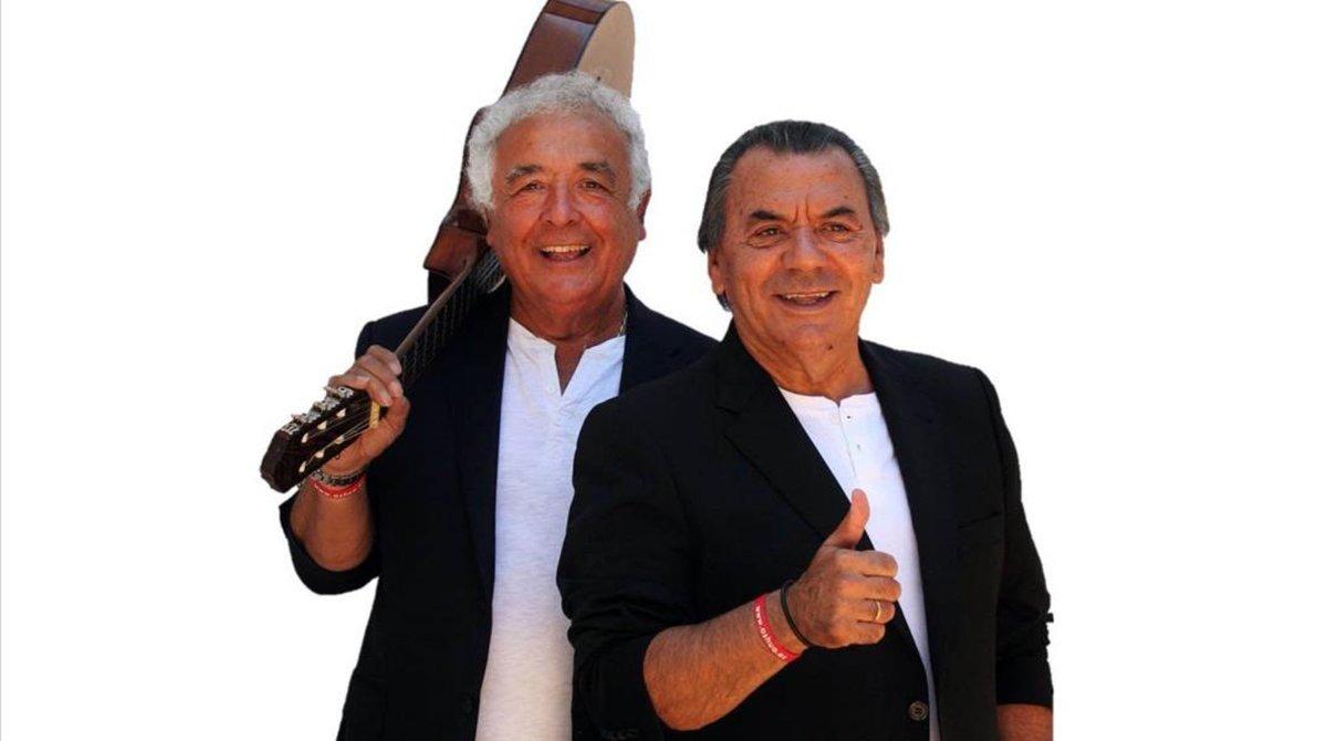 Antonio Romero (izquierda) y Rafael Ruiz, Los del Río, llevan 57 años juntos.