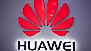 Logotipo de Huawei.