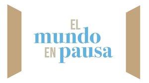 El logo del documental 'El mundo en pausa'.