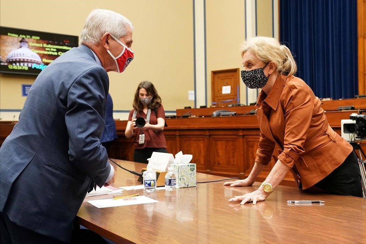 La guerra partidista intoxica la lluita contra el coronavirus als EUA