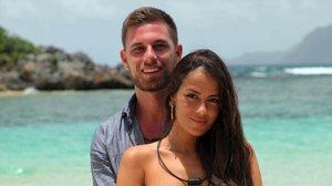 LA PAREJA BAJO EL FOCO (Y EL 'HASHTAG'). Tom y Melissa, concursantes de la última temporada de 'La isla de las tentaciones'.