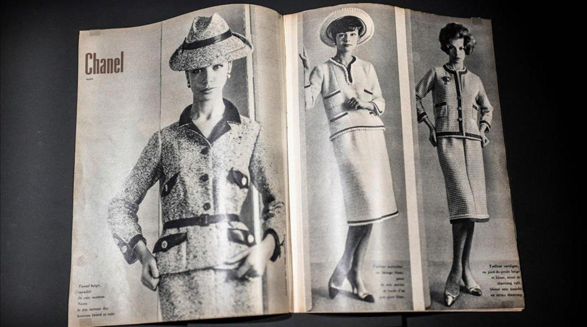 En las revistas de moda.