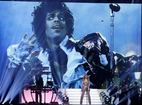 Madonna performs Nothing Compares 2 U during her tribute to Prince at the 2016 Billboard Awards in Las Vegas