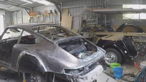 porsche 911 reconstrucción