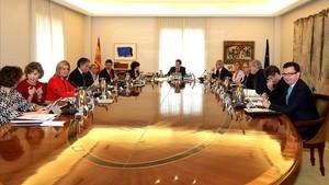 Una reunión del Consejo de Ministros