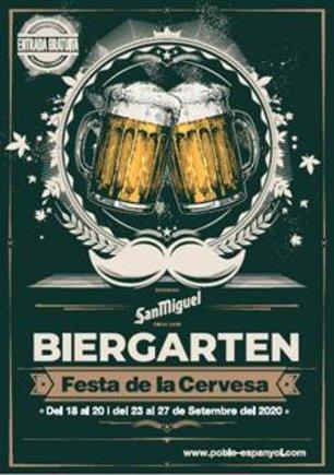 El Poble Espanyol celebra la gran fiesta de la cerveza hasta el domingo 27