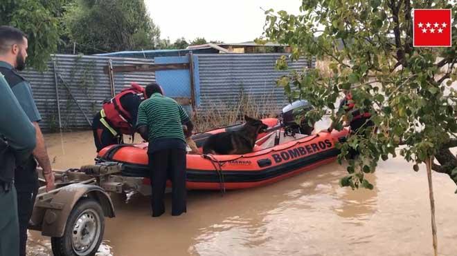 Arganda del Rey, de nou afectada per les riuades provocades per les fortes pluges