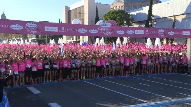 La carrera se ha iniciado a las 09.00 de la mañana en la Avenida María Cristina de Barcelona y ha finalizado en la avenida Rius i Taulet.