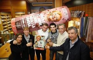 Primer premio de la Grossa repartido en el Estanco La Havanna de Girona.