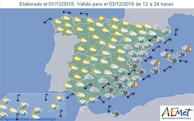 Mapa Del Tiempo España Fin De Semana.Meteorologia Noticias Sobre El Tiempo