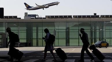 El aeropuerto de El Prat recibió el 10,6% más de pasajeros en marzo