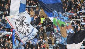 Aficionados del Lazio.
