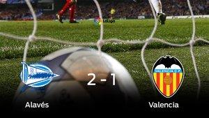 El Alavés se lleva la victoria en su casa ante el Valencia