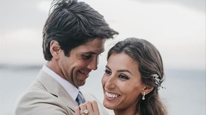 Ana Boyer y Fernando Verdasco celebran su primer aniversario de boda.