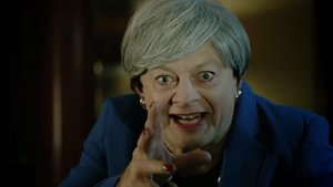 Andy Serkis, parodiando a Theresa May.