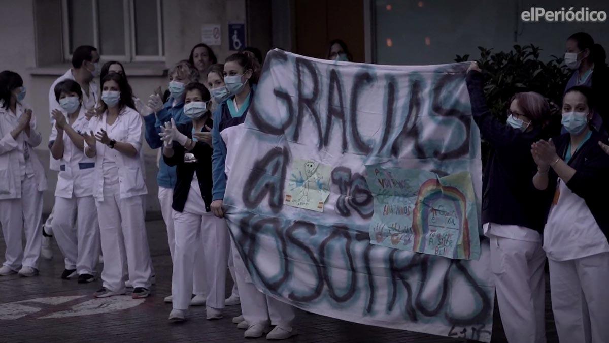 Vídeo de homenaje para los sanitarios que están luchando contra el covid-19.