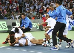 Argentina saborea el triunfo en la Davis