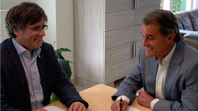 Artur Mas no descarta presentarse otra vez a unas elecciones.
