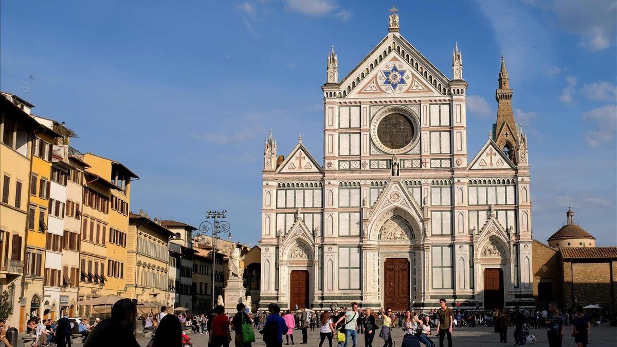 Basílica de la Santa Cruz de Florencia.