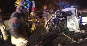 Tres morts en un accident de trànsit a Tarragona